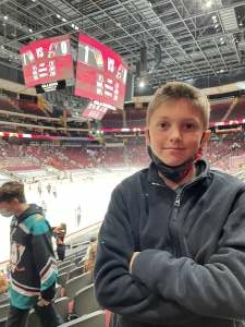 Dave attended Arizona Coyotes vs. Anaheim Ducks on Feb 24th 2021 via VetTix