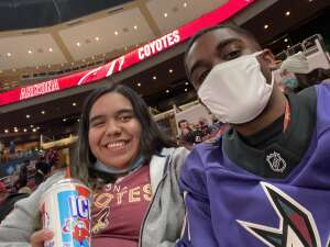Austin White attended Arizona Coyotes vs. Anaheim Ducks on Feb 24th 2021 via VetTix