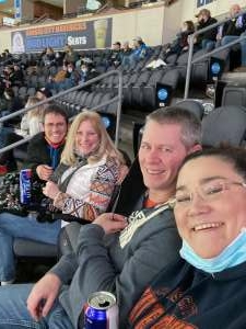 Doug attended Kansas City Mavericks vs. Allen Americans - ECHL on Feb 13th 2021 via VetTix