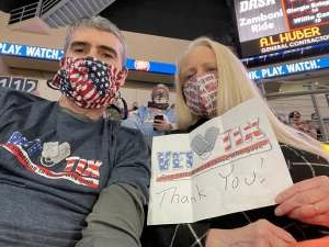 Brian attended Kansas City Mavericks vs. Allen Americans - ECHL on Feb 13th 2021 via VetTix