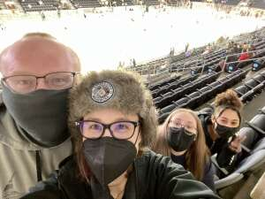 Jessica  attended Kansas City Mavericks vs. Allen Americans - ECHL on Feb 13th 2021 via VetTix