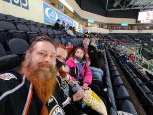 Joe attended Kansas City Mavericks vs. Allen Americans - ECHL on Feb 15th 2021 via VetTix