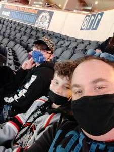 Rob attended Kansas City Mavericks vs. Allen Americans - ECHL on Feb 15th 2021 via VetTix