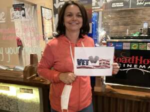 Judy attended Roadhouse Cinemas Thursday for Vets on Mar 11th 2021 via VetTix