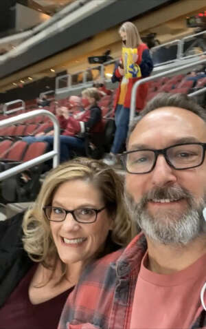 Michael and Angela Smith attended Arizona Coyotes vs. St. Louis Blues on Feb 12th 2021 via VetTix