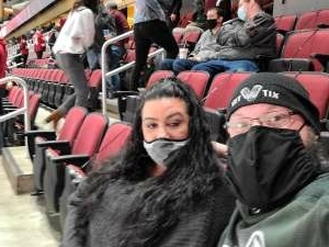 Adam Gadberry attended Arizona Coyotes vs. St. Louis Blues on Feb 12th 2021 via VetTix