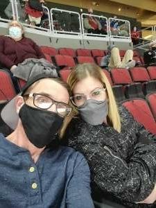 Donald attended Arizona Coyotes vs. St. Louis Blues on Feb 12th 2021 via VetTix