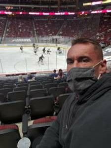 Bill attended Arizona Coyotes vs. St. Louis Blues on Feb 12th 2021 via VetTix