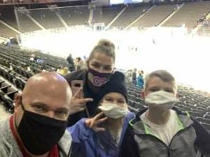 Curt attended Jacksonville Icemen vs. South Carolina Stingrays - ECHL (Sun) on Feb 19th 2021 via VetTix