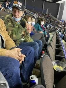 Richard Judge attended Jacksonville Icemen vs. South Carolina Stingrays - ECHL (Sun) on Feb 19th 2021 via VetTix