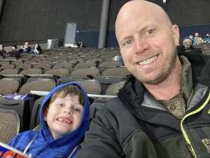 Dave attended Jacksonville Icemen vs. South Carolina Stingrays - ECHL (Sun) on Feb 19th 2021 via VetTix