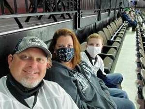 Tony attended Jacksonville Icemen vs. South Carolina Stingrays - ECHL (Sun) on Feb 19th 2021 via VetTix