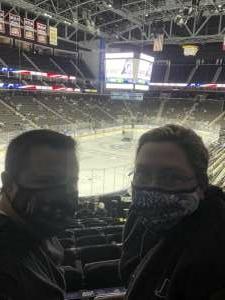 Shane  attended Jacksonville Icemen vs. South Carolina Stingrays - ECHL (Sun) on Feb 19th 2021 via VetTix