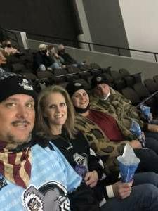 Rob attended Jacksonville Icemen vs. South Carolina Stingrays - ECHL (Sun) on Feb 19th 2021 via VetTix