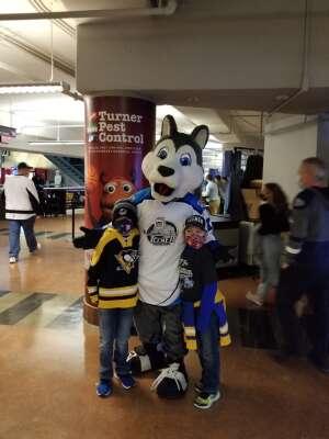 Jeff attended Jacksonville Icemen vs. South Carolina Stingrays - ECHL (Sun) on Feb 19th 2021 via VetTix