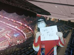 Andres attended Florida Panthers vs. Dallas Stars - NHL on Feb 25th 2021 via VetTix