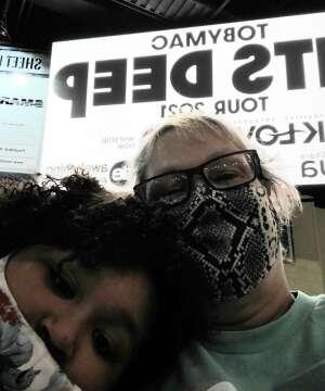 JJ attended Tobymac Hits Deep Tour on Feb 25th 2021 via VetTix