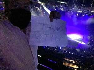 Mike attended Disney on Ice Presents Dream Big on Mar 25th 2021 via VetTix