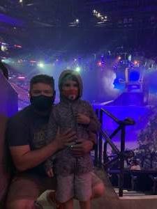 Michael  attended Disney on Ice Presents Dream Big on Mar 25th 2021 via VetTix