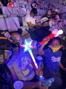 Adriana !! attended Disney on Ice Presents Mickey's Search Party on Apr 7th 2021 via VetTix