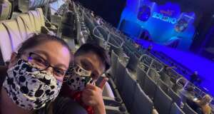 Disney Kid attended Disney on Ice Presents Mickey's Search Party on Apr 7th 2021 via VetTix