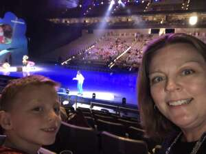 Stephanie attended Disney on Ice Presents Mickey's Search Party on Apr 7th 2021 via VetTix