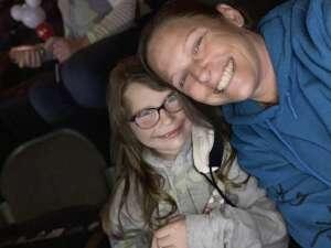Monica Reeves attended Disney on Ice Presents Dream Big on Apr 1st 2021 via VetTix