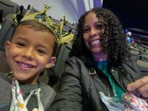 Duncan Family attended Disney on Ice Presents Dream Big on Apr 1st 2021 via VetTix