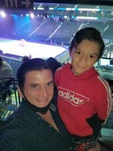 Nicolas B. attended Disney on Ice Presents Dream Big on Apr 1st 2021 via VetTix