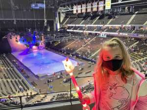 JC attended Disney on Ice Presents Dream Big on Apr 1st 2021 via VetTix