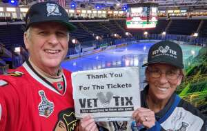Fran attended Florida Everblades vs. Orlando Solar Bears- ECHL on Mar 13th 2021 via VetTix