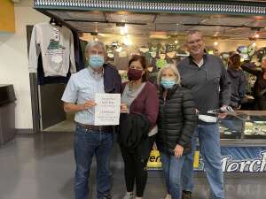 Rich attended Florida Everblades vs. Wheeling Nailers - ECHL on Mar 24th 2021 via VetTix