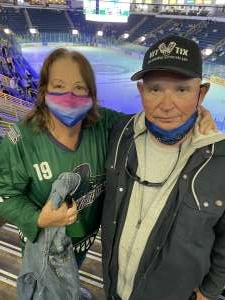 William attended Florida Everblades vs. Wheeling Nailers - ECHL on Mar 24th 2021 via VetTix