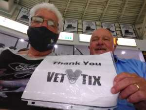 Jim Taube attended Florida Everblades vs. Wheeling Nailers - ECHL on Mar 24th 2021 via VetTix