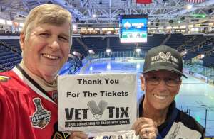 Dave attended Florida Everblades vs. Wheeling Nailers - ECHL on Mar 24th 2021 via VetTix