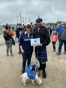 The Cajun and His Lassie attended Texas Scottish Festival & Highland Games on Apr 30th 2021 via VetTix
