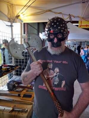 Richard Allen  attended Texas Scottish Festival & Highland Games on Apr 30th 2021 via VetTix