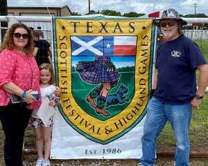 Gordon & Charlene Craft attended Texas Scottish Festival & Highland Games on Apr 30th 2021 via VetTix