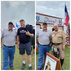 Vince and Nancy attended Texas Scottish Festival & Highland Games on Apr 30th 2021 via VetTix