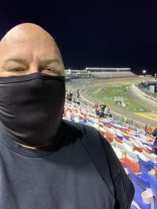 Don attended Bucked Up 200 - NASCAR Camping World Truck Series on Mar 5th 2021 via VetTix