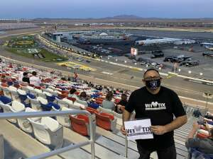 RAMON FRAYDEALFARO JR. attended Bucked Up 200 - NASCAR Camping World Truck Series on Mar 5th 2021 via VetTix