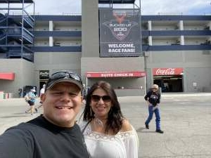 GZ attended Alsco Uniforms 300 - NASCAR Xfinity Series Race on Mar 6th 2021 via VetTix
