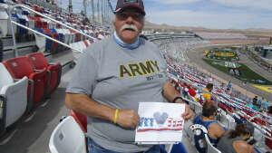 John attended Alsco Uniforms 300 - NASCAR Xfinity Series Race on Mar 6th 2021 via VetTix