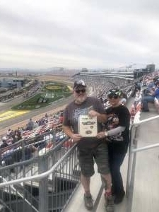 Jeff Collins attended Pennzoil 400 - NASCAR Cup Series on Mar 7th 2021 via VetTix