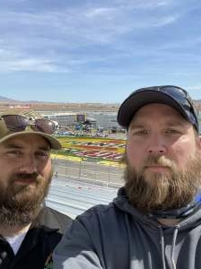 Albert attended Pennzoil 400 - NASCAR Cup Series on Mar 7th 2021 via VetTix