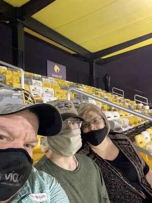 PacmanTX attended Houston Sabercats vs. Austin Gilgronis - Major League Rugby on Mar 11th 2021 via VetTix