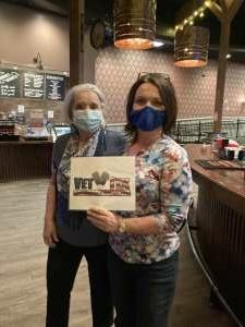 Judy  attended Roadhouse Cinemas Thursday for Vets on Apr 1st 2021 via VetTix