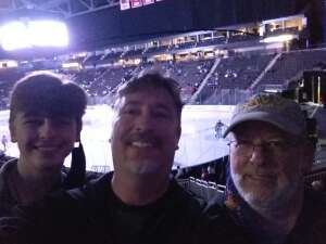 Scott Sutherland  attended Jacksonville Icemen vs. Greenville Swamp Rabbits - ECHL on Mar 11th 2021 via VetTix