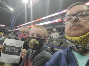Bill attended Jacksonville Icemen vs. Greenville Swamp Rabbits - ECHL on Mar 11th 2021 via VetTix