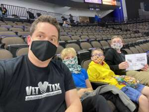 Aaron M. attended Jacksonville Icemen vs. Greenville Swamp Rabbits - ECHL on Mar 11th 2021 via VetTix
